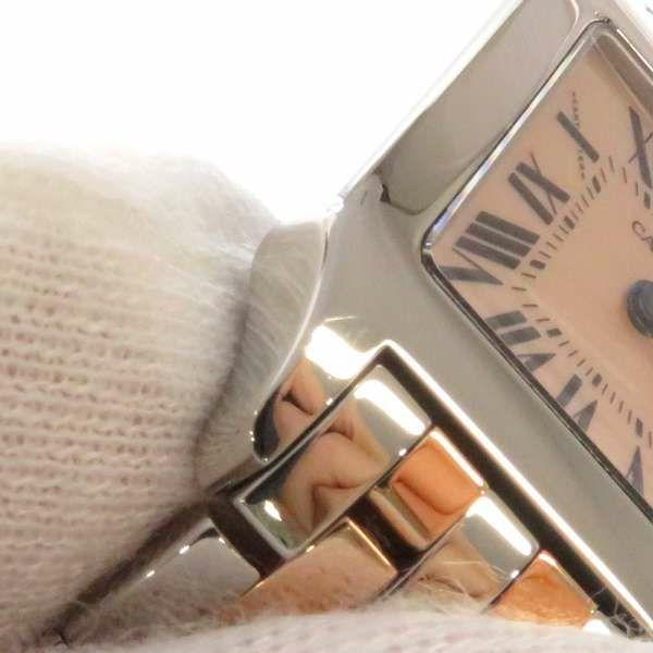 カルティエ サントスドゥモワゼルSM K18PGピンクゴールド W25074Y9 Cartier 腕時計 クォーツ レディース