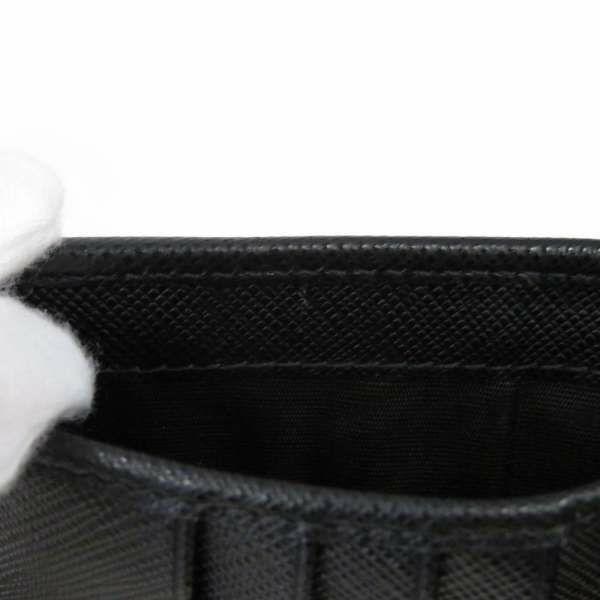 プラダ 財布 ナイロン TESSUTO コンパクトウォレット ブラック 1MV204 PRADA 二つ折り財布 黒