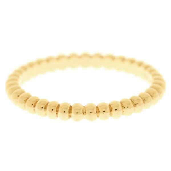 ヴァンクリーフ&アーペル リング ペルレ スモールモデル K18PGピンクゴールド リングサイズ52 VCARN33000 VCARN33052 Van Cleef & Arpels ジュエリー 指輪