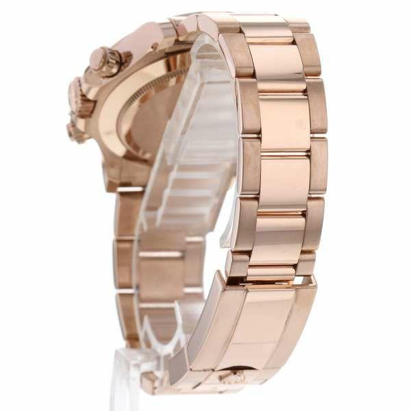 ロレックス デイトナ K18PGピンクゴールド ランダム ルーレット 116505 ROLEX 腕時計 ウォッチ エバーローズゴールド 黒文字盤
