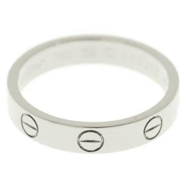 カルティエ ラブリング K18WGホワイトゴールド リングサイズ52 Cartier ジュエリー 指輪