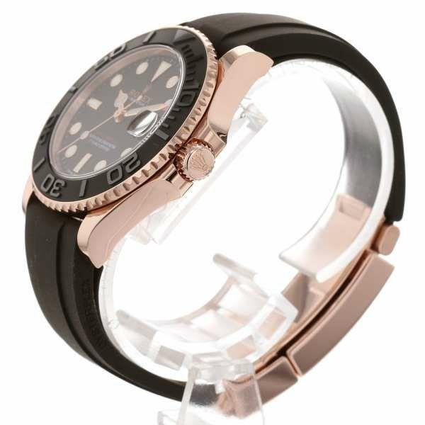 ロレックス ヨットマスター 37 K18PGピンクゴールド ランダムシリアル ルーレット 268655 ROLEX 腕時計 ウォッチ 黒文字盤