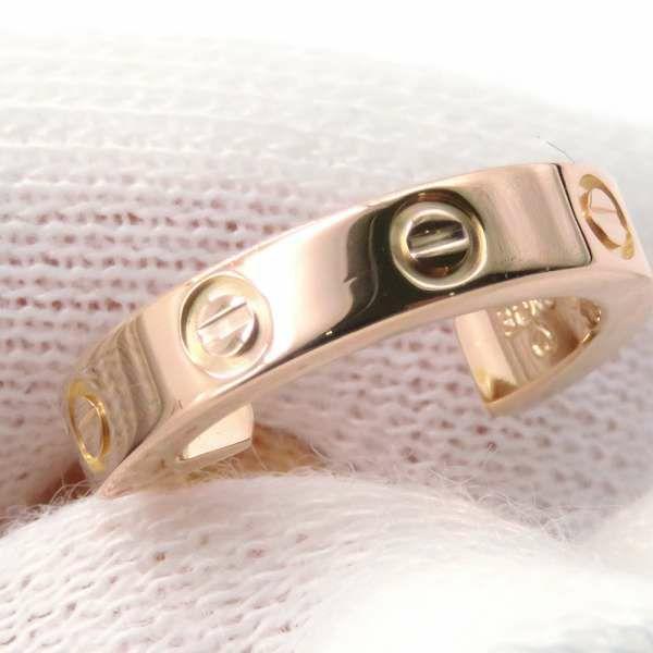 カルティエ ピアス ミニラブ イヤリング K18PGピンクゴールド B8029000 Cartier ジュエリー