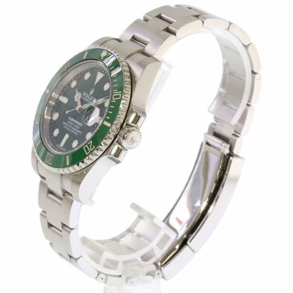 ロレックス サブマリーナ グリーン デイト ランダムシリアル ルーレット 116610LV ROLEX 腕時計 ウォッチ