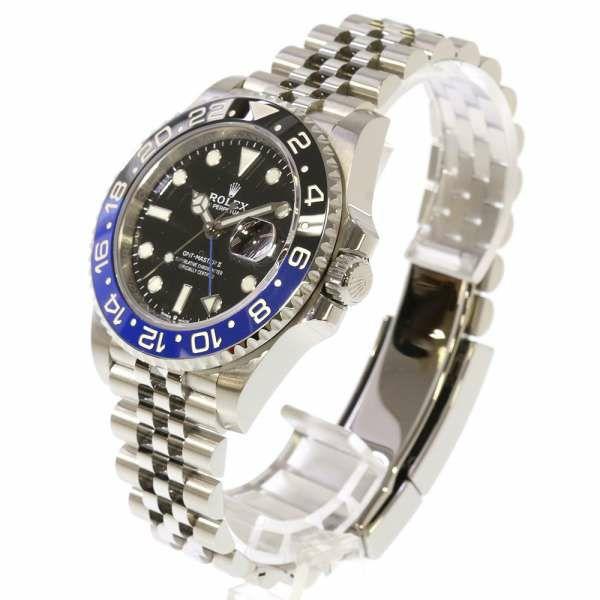 ロレックス GMTマスター2 デイト ランダムシリアル ルーレット 126710BLNR ROLEX 腕時計