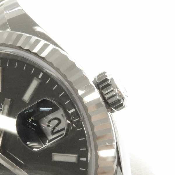 ロレックス デイトジャスト36 SS/K18WGホワイトゴールド ランダムシリアル ルーレット 126234 ROLEX 腕時計 ウォッチ 黒文字盤