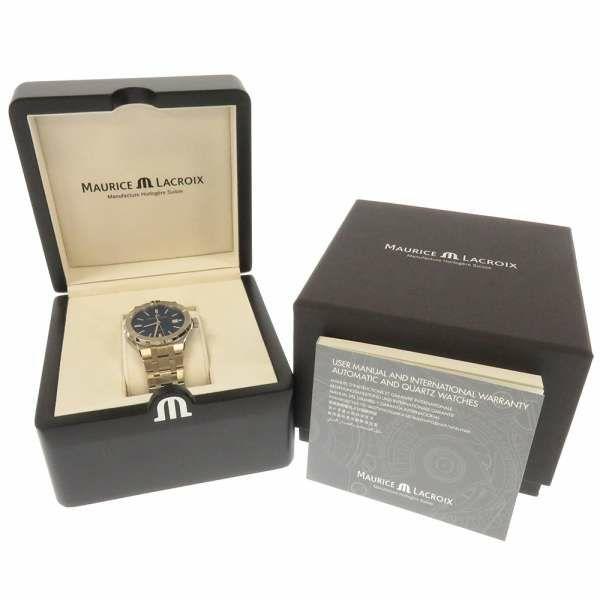 モーリスラクロア アイコン オートマティック42 AI6008-SS002-430-1 MAURICE LACROIX 腕時計 ウォッチ ブルー文字盤