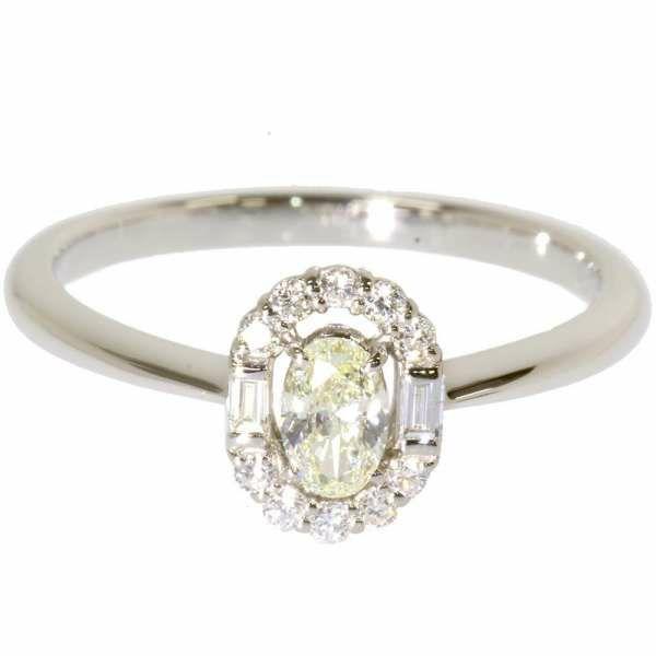 ダイヤモンド リング ダイヤモンド 0.23ct 0.15ct Pt900プラチナ リングサイズ12号 ジュエリー