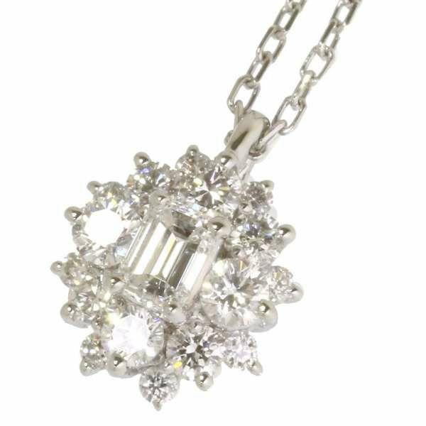 ダイヤモンド ネックレス ダイヤモンド 0.54ct Pt950プラチナ ジュエリー ダイヤ アクセサリー