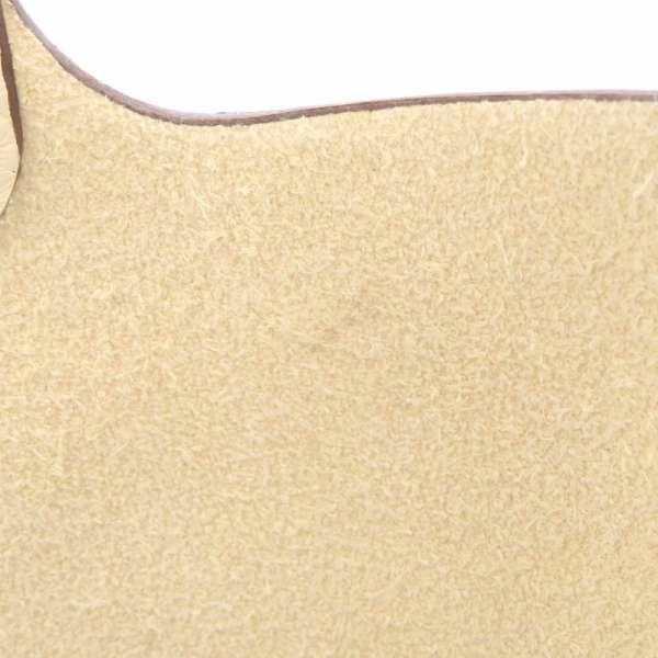 エルメス ハンドバッグ ピコタンロックMM ナタ/ゴールド金具 トリヨンクレマンス Z刻印 HERMES トートバッグ 白