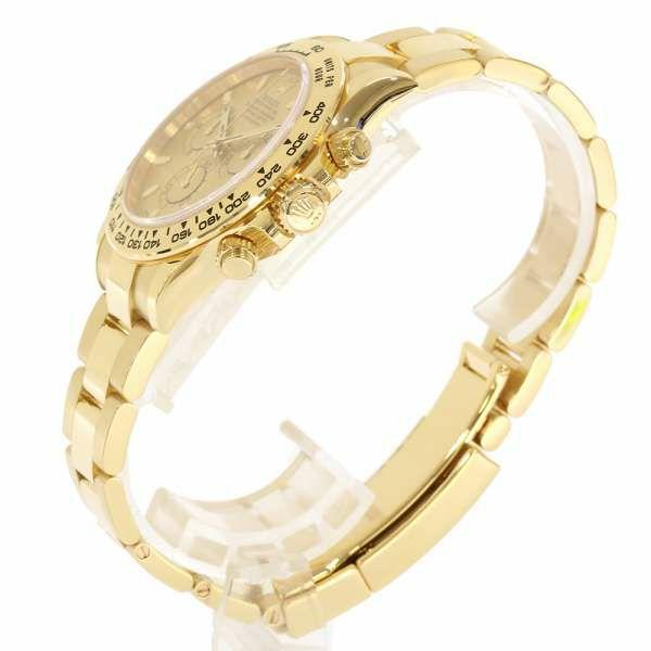 ロレックス コスモグラフ デイトナ K18YGイエローゴールド ランダムシリアル ルーレット 116508 ROLEX 腕時計 ウォッチ