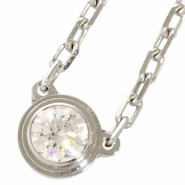 カルティエ ネックレス ディアマンレジェ ダイヤモンド 0.09ct K18WGホワイトゴールド B7215900 Cartier ジュエリー アクセサリー