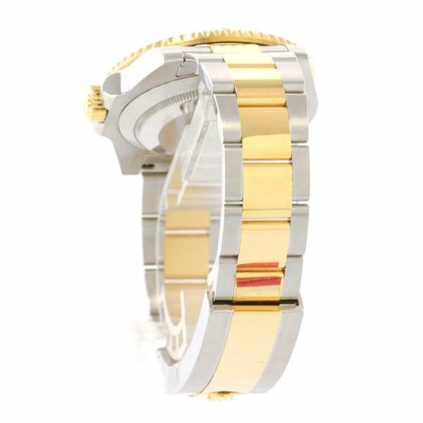 ロレックス サブマリーナ デイト コンビ SS/K18YGイエローゴールド ランダムシリアル ルーレット 116613LB ROLEX 腕時計 ウォッチ ブルー文字盤