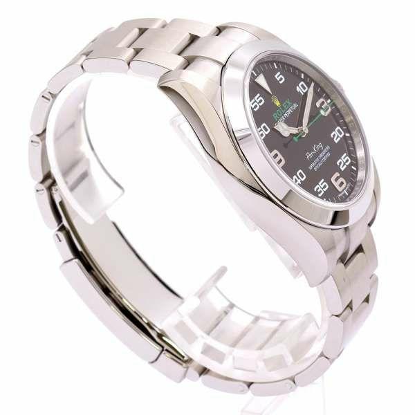ロレックス エアキング ランダムシリアル ルーレット 116900 ROLEX 腕時計 黒文字盤