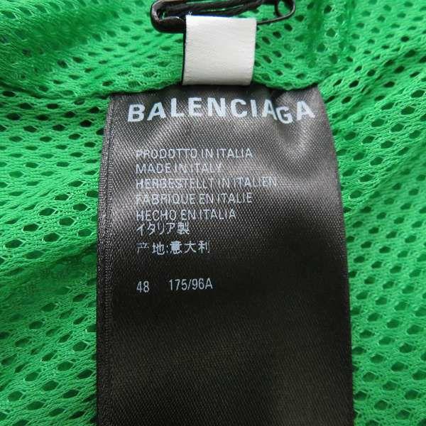 バレンシアガ ジャケット TRACKSUIT ジャケット ダブル起毛フリース グリーン メンズサイズ48 642337 服 アパレル アウター