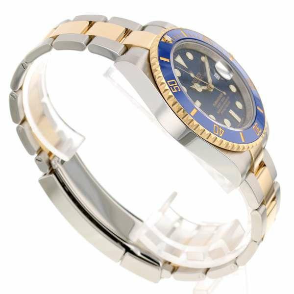 ロレックス サブマリーナ デイト コンビ SS/K18YGイエローゴールド ランダムシリアル ルーレット 116613LB ROLEX 腕時計 ウォッチ