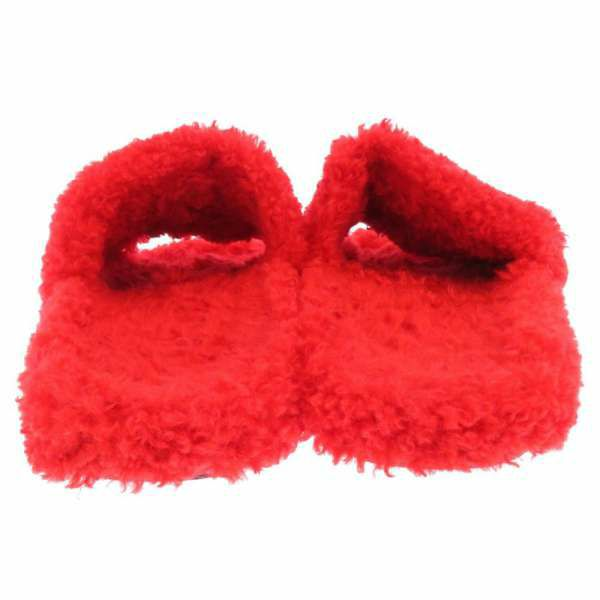 バレンシアガ サンダル ファーリー SLIDE SANDAL フェイクムートン メンズサイズ43 654261 BALENCIAGA 靴 ファー