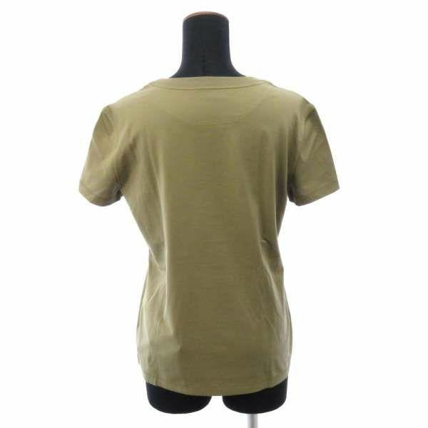 エルメス Tシャツ 刺繍入り ポケット レディースサイズ36 HERMES 服 アパレル シェーヌダンクル