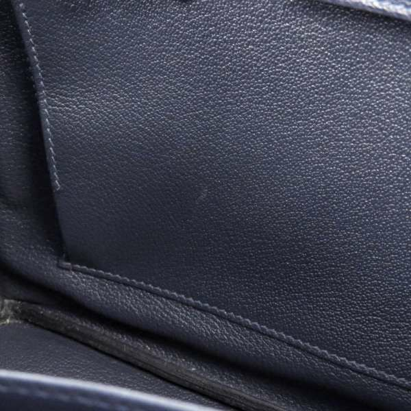 エルメス バーキン30 ブルーニュイ/ゴールド金具 トゴ X刻印 HERMES Birkin ハンドバッグ