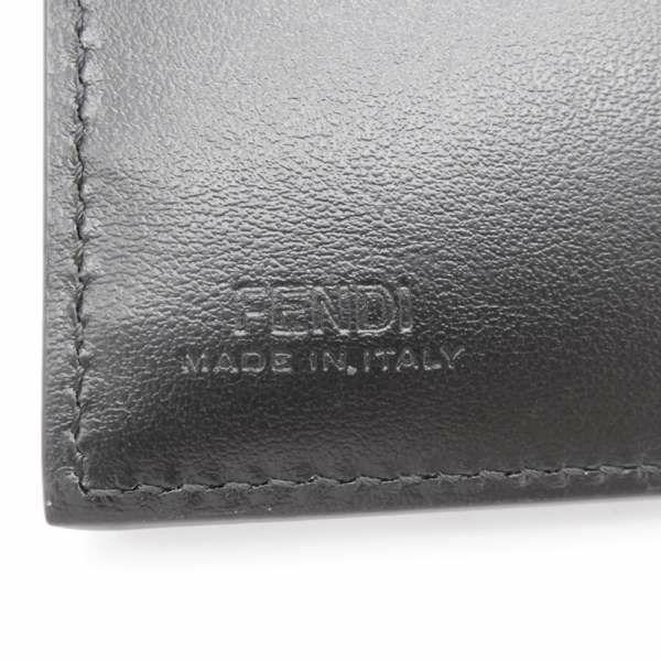 フェンディ 二つ折り財布 8M0447 FENDI 財布 ブラック 黒