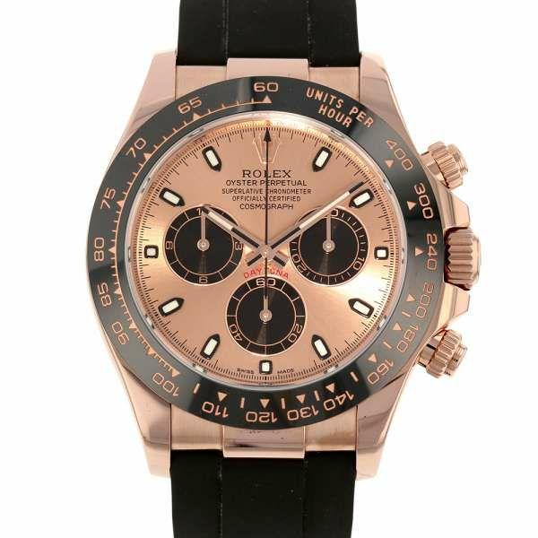 ロレックス デイトナ コスモグラフ K18ピンクゴールド ランダムシリアル ルーレット 116515LN ROLEX 腕時計