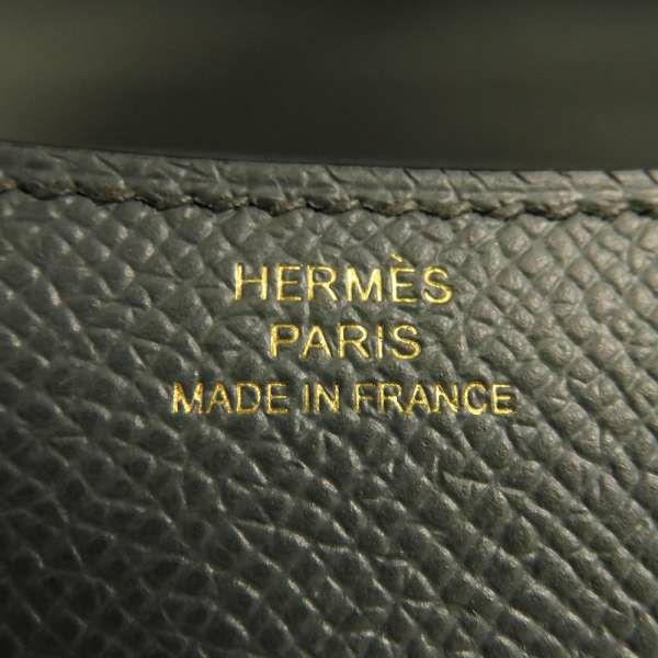 エルメス ショルダーバッグ ミニ コンスタンス3 ブルーオラージュ/ゴールド金具 ヴォーエプソン Z刻印 HERMES Constance