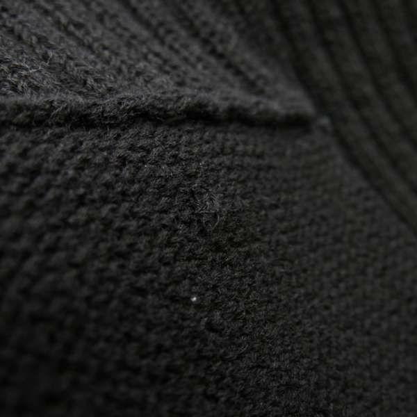 シャネル カーディガン リブニット レディースサイズ36 P63091 CHANEL アパレル 服 アウター ジャケット 黒