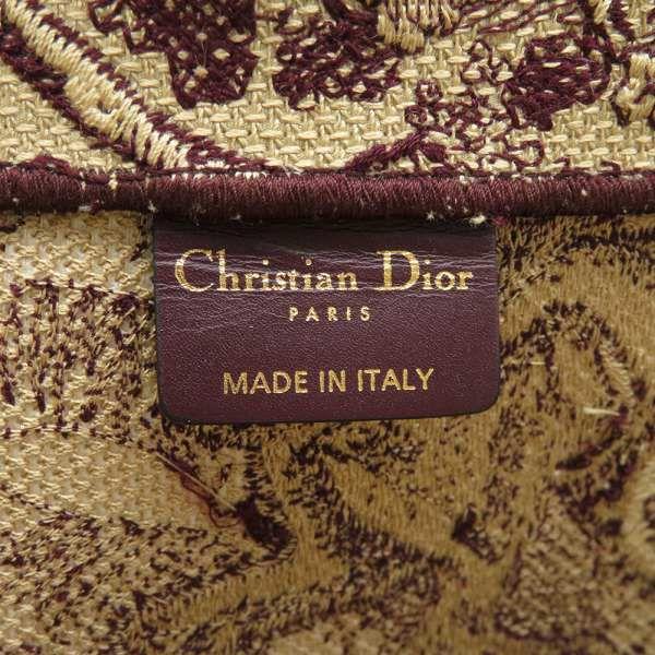 クリスチャン・ディオール トートバッグ ブックトート トワル ドゥ ジュイ リバース エンブロイダリー M1286ZTDT Christian Dior バッグ ライオン トラ ヘビ サル