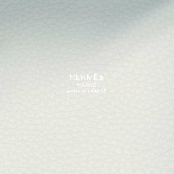エルメス ハンドバッグ ピコタンロックPM ブルーペール/シルバー金具 トリヨンクレマンス Z刻印 HERMES トートバッグ