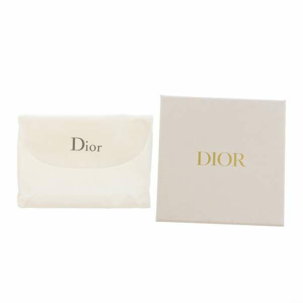 クリスチャン・ディオール 三つ折り財布 30モンテーニュ コンパクトウォレット S2084OBAE Christian Dior ミニ財布 折りたたみ