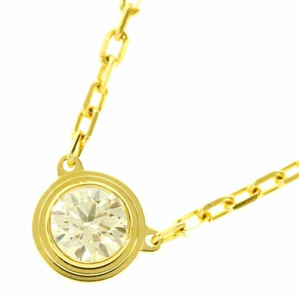 カルティエ ネックレス ディアマンレジェ ダイヤモンド 約0.18ct K18YGイエローゴールド B7215500 Cartier ジュエリー