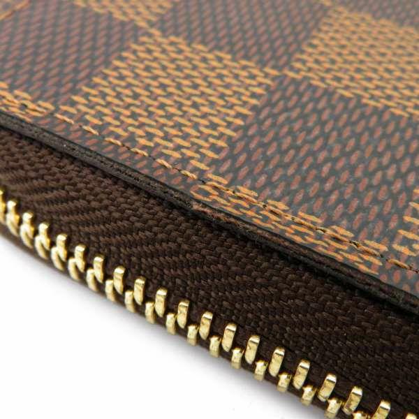 ルイヴィトン 長財布 ダミエ・エベヌ ポルトフォイユ・クレマンス N60534 LOUIS VUITTON ヴィトン 財布