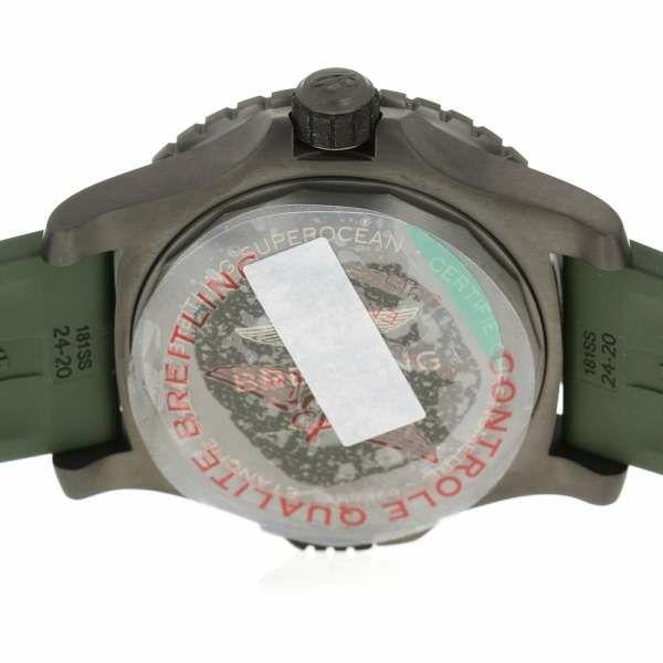 ブライトリング スーパーオーシャン オートマチック 48 V17369241L1S2/V1736 BREITLING 腕時計 ウォッチ グリーン文字盤