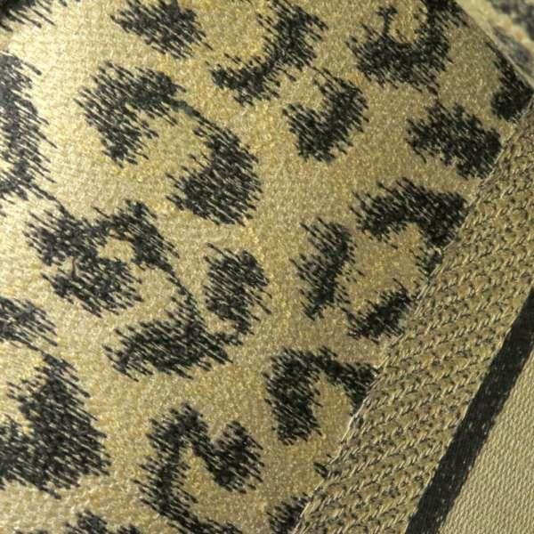 クリスチャン・ディオール トートバッグ ブックトート レオパード Mizza エンブロイダリー M1286ZRHM_M918 Christian Dior バッグ ヒョウ柄