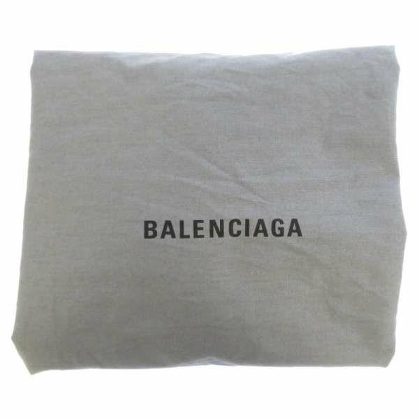 バレンシアガ トートバッグ ネイビーカバスS レオパード ポーチ付 339933 BALENCIAGA スモールサイズ バッグ カバ ヒョウ柄
