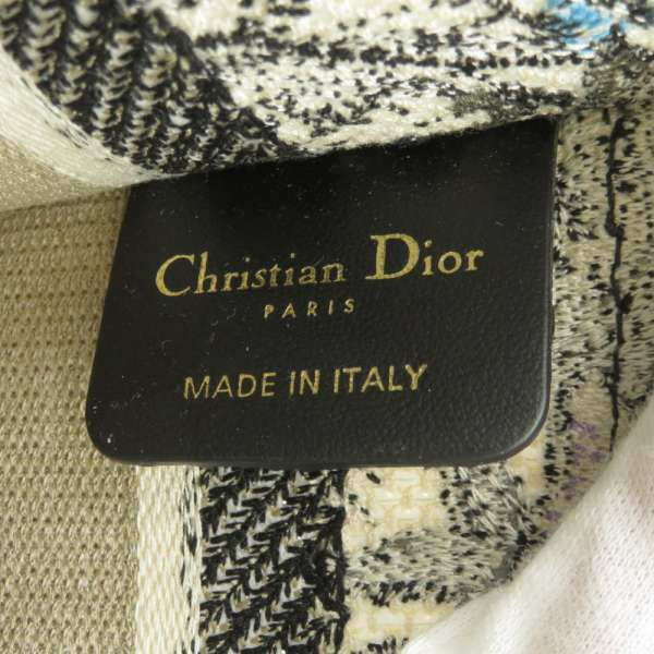 クリスチャン・ディオール トートバッグ ブックトート ミニ Christian Dior バッグ フラワー