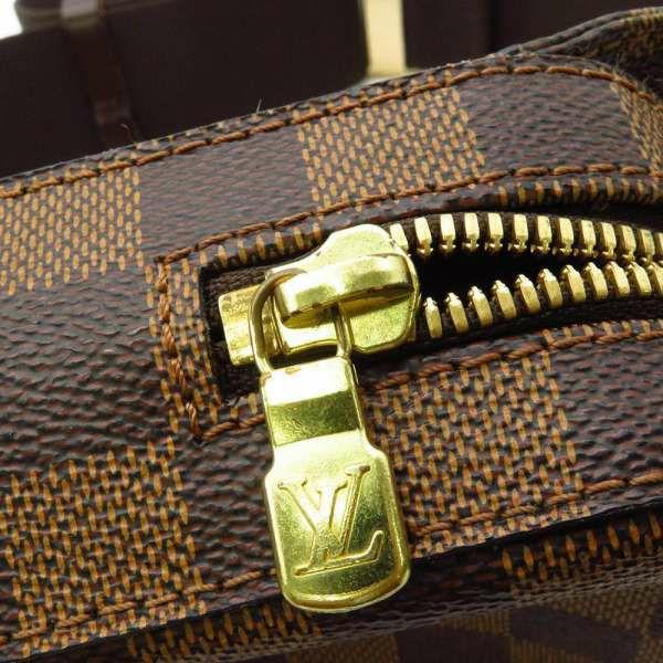 ルイヴィトン ボディバッグ ダミエ・エベヌ ジェロニモス N51994 ヴィトン ショルダーバッグ ウエストポーチ 旧型 メンズ