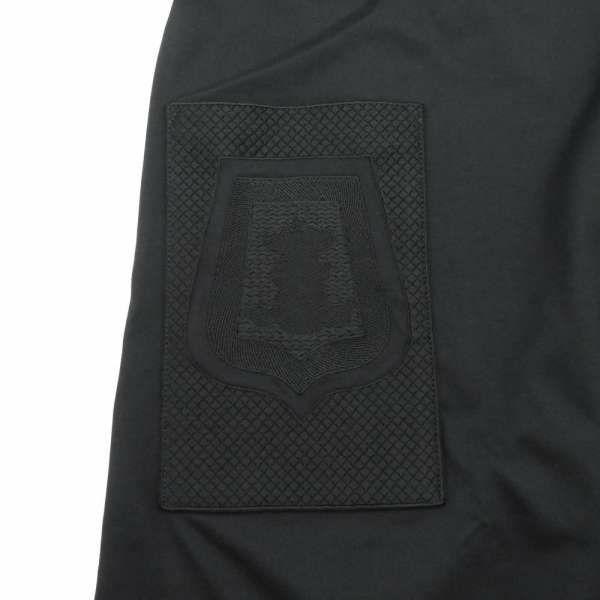 エルメス ワンピース サーベル飾袋 Poste et Cavalerie マイクロドレス 刺繍入りポケット HERMES アパレル 服 ブラック 黒