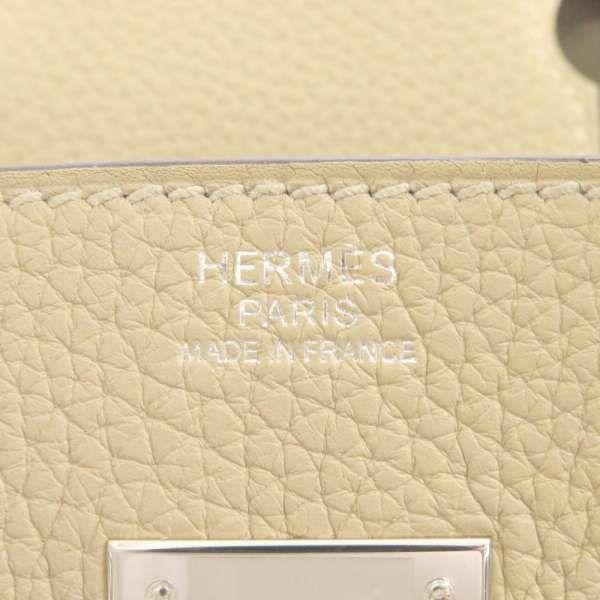 エルメス バーキン30 トレンチ/シルバー金具 トゴ Z刻印 HERMES Birkin ハンドバッグ