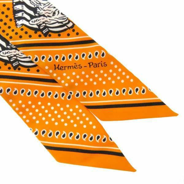 エルメス スカーフ ツイリー ゼブラ・バンダナ Zebres Bandana HERMES シルクツイル 2020年春夏