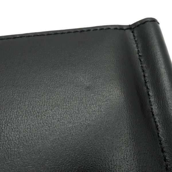 サンローランパリ 財布 マネークリップ 607738 SAINT LAURENT PARIS コンパクト ブラック 黒