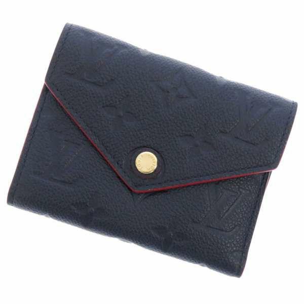 ルイヴィトン 三つ折り財布 モノグラム・アンプラント ポルトフォイユ・ヴィクトリーヌ M64577 LOUIS VUITTON ヴィトン 財布