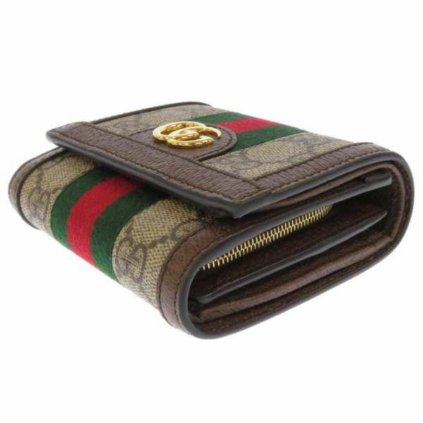 グッチ 二つ折り財布 オフィディア GGスプリーム 598662 GUCCI 財布 コンパクトウォレット