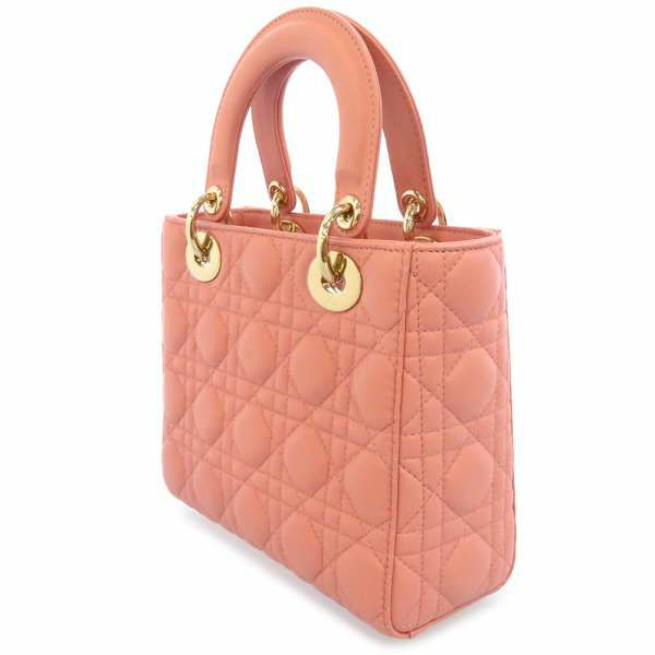 クリスチャン・ディオール ハンドバッグ レディディオール カナージュ 2way カスタマイズ ストラップ M0532OCAL Christian Dior Lady Dior バッグ 2wayショルダーバッグ