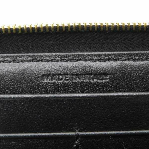 セリーヌ 長財布 Cチャーム キルティング ラウンドファスナー 10B55 3BFL  CELINE 財布 ブラック 黒