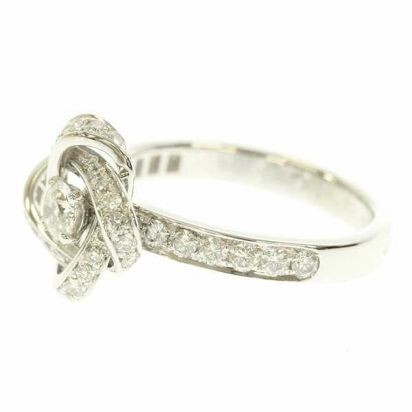 ブシュロン リング アバ・ビヴォワンヌ フラワーモチーフ ダイヤモンド K18WGホワイトゴールド リングサイズ51 JSL00101 Boucheron ジュエリー 指輪