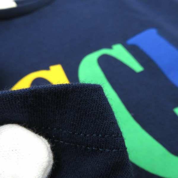 グッチ Tシャツ ロゴプリント チルドレンズ 半袖 サイズ10 526783 GUCCI 服 アパレル