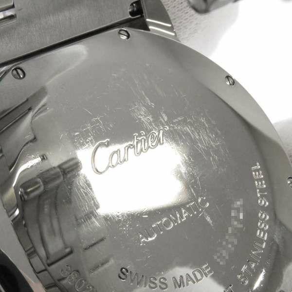 カルティエ ロンドソロ ドゥ カルティエ W6701011 Cartier 腕時計 ウォッチ シルバー文字盤