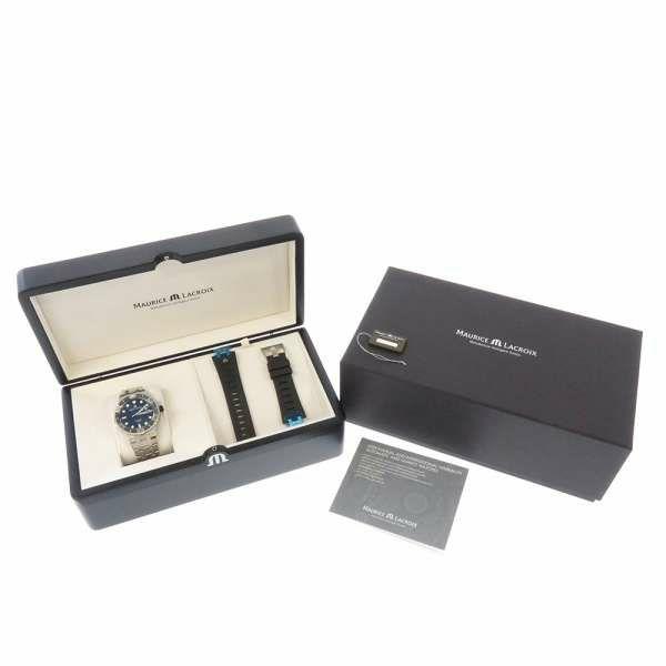 モーリスラクロア アイコン ベンチュラー AI6058-SS002-330-2 MAURICE LACROIX 腕時計 ウォッチ 黒文字盤