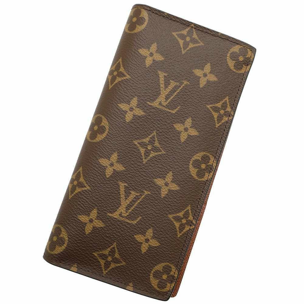 ルイヴィトン 長財布 モノグラム ポルトフォイユ ・ブラザ M66540 LOUIS VUITTON ヴィトン メンズ 財布